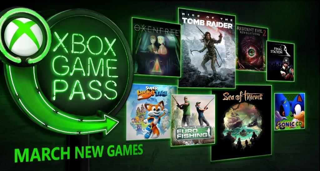 xbox game pass march